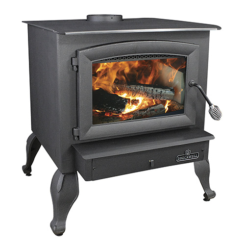 SW740 Wood Stove With Leg Set